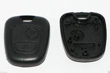 PEUGEOT 106 206 207 306 307 Citroen Schlüssel Gehäuse Remote Tasten Deckel NEU
