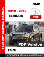 2012 gmc terrain manual