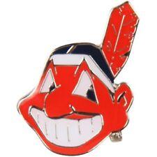 Cleveland Indians Chief Wahoo Logo Metal Lapel Pin Hat Baseball