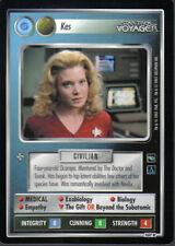 STAR TREK CCG VOYAGER RARE CARD KES (federation)