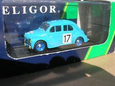 ELIGOR 1/43 RENAULT 4 CV 1063 TOUR DE FRANCE!!!!