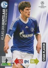 HUNTELAAR STAR PLAYER NETHERLANDS SCHALKE 04 CHAMPIONS LEAGUE TRADING CARDS 2013