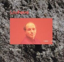 Leo Ferre - Paname 1960/1962  - CD Like New