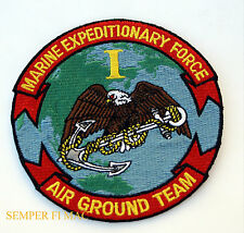 1ST US MARINE EXPEDITIONARY FORCE PATCH MEF MCB CAMP PENDLETON PIN UP US NAVY