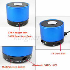Mini Wireless Portable Bluetooth Audio Stereo Speaker for Samsung Note Laptop Pc