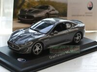 1/43 SCALE MASERATI GRANTURISMO MC STRADALE CAR MODEL GREY IXO ALTAYA