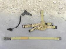 1/6 scale British Browning High Power Pistol & Dropleg Holster