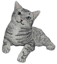 Cat Applique Patch (Iron on)