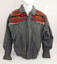 Pendelton Men's Jacket Coat Sz XL -- Lightweight with Wool Blanket Pattern
