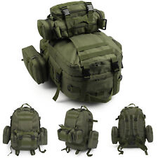 50L Modern Military Tactical Army Rucksacks Molle Backpack Camping Hiking Bag UK