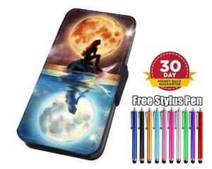 Little Mermaid Ariel Disney Flip Phone Case Cover for iPhone Samsung Huawei