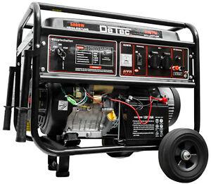 Benzin Stromgenerator Stromerzeuger 6300 Watt Notstromaggregat Lichtstrom 230V