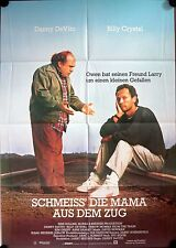 Throw Momma from the Train German movie poster Billy Crystal Danny DeVito Greist