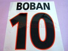 Boban #10 2000-2001 AC Milan Awaykit Nameset Printing