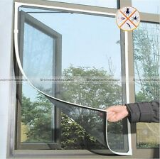 Insect Mosquito DIY Net Fly Screen Window Mesh Net with Sticky Tape S8