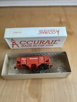 Accurail Ho Scale G.N Red #2352 Canton Twin Hopper New Open Box