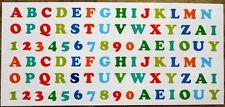 88 x Sticker Aufkleber + Outdoor Wetterfest + Buchstaben und Zahlen + Version 2