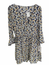Zara Viscose 3/4 Sleeve Floral Dresses for Women