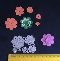 Lovely Flower Set of 5 dies. Cutting/Blossom/Floral/Flower/ Die