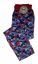 Mens DC Comic Superman Lounge Pants Large Size