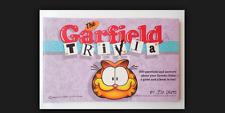 The Garfield Trivia Book paperback book Jim Davis FREE SHIPPING comic cat