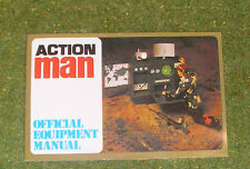 Vintage Action Man 40th Officiel équipement manuel (radio cover)