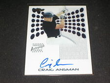 CRAIG ANSMAN SIGNED AUTOGRAPHED CERTIFIED AUTHENTIC PACK PULLED BASEBALL CARD