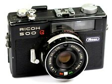 RICOH 500G mit-with Rikenon 2,8 / 40 mm    (02404)