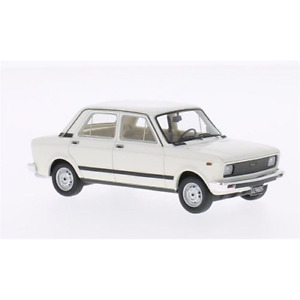 FIAT 128 CL 1978 WHITE 1:43 Neo Scale Models Auto Stradali Die Cast Modellino