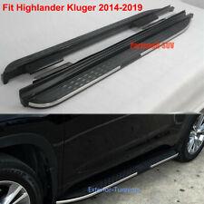 Running Boards fits for Toyota highlander kluger 2014-2019 Side Step Nerf Bar