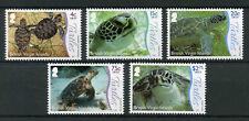 British Virgin Islands BVI 2017 MNH Underwater Life Pt 1 Turtles 5v Set Stamps