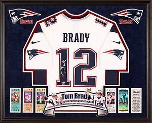 value of tom brady autographed jersey