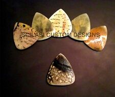 Real Turtle Shell Guitar Pick - Famous Tortoise Shell Tone and 100% Legal!