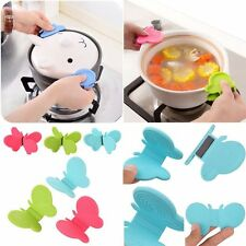 Random Color Kitchen Tool Anti-scald Devices Silicone Butterfly Shaped