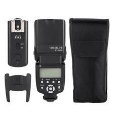 VBESTLIFE WS-560IV Speedlite + Blitzauslöser für Canon Nikon Sony A7/A7 II/A7S