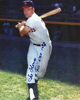 Lee Thomas 1962 Los Angeles Angels All-Star Signed Autographed 8x10 Photo COA