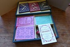 VINTAGE BOXED BEZIQUE PLAYING CARD GAME, Joseph Reynolds and sons