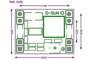 DC-DC 9V/12V/24V to 5V 3A Step Down Voltage Regulated Power Supply Converter