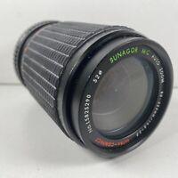 SUNAGOR  MC 80-200mm 4.5-5.5 Zoom Minolta MD Mount Camera Lens