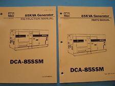 MQ Power 85KVA Generator  DCA-85SSM Instruction &  Parts Manuals