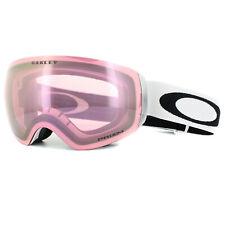 Oakley Ski Goggles Flight Deck XM OO7064-48 Matt White Prizm HI Pink Iridium