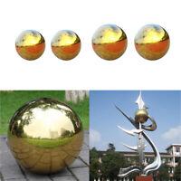 Set 4 Stainless Steel Mirror Sphere Gazing Ball Home Outdoor Garden Ornament
