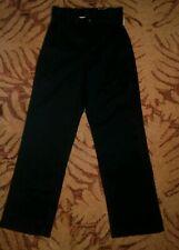 George Boys 12S Straight Fit Flat Front Twill Blue Pants NWT adjustable waist