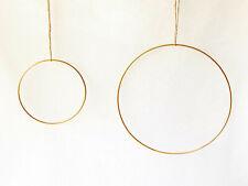 Weiss Beschichtet Hobbyfun Metall-Ring 30 cm
