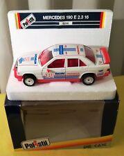 1/25 POLISTIL Serie S Mercedes Benz 190 E 2.3 16V #18 MIB - No Burago Politoys