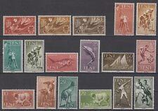 IFNI (ESPAÑA) - AÑO 1958 + 1959 NUEVO COMPLETO MNH SPAIN - EDIFIL 142/58