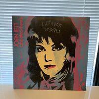 Joan Jett I Love Rock N Roll 33 1/3 Anniversary & Live Vinyl Used Tested Clean