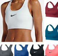 Nike Women's Pro Classic Swoosh Bra Running Athletic Training Bra Top
