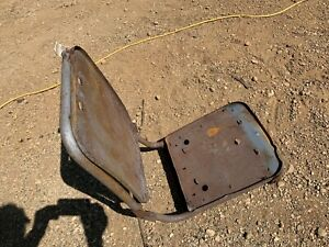 1958 WIllys Jeepster front seat frame