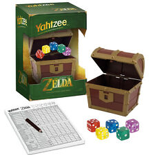 YAHTZEE: THE LEGEND OF ZELDA COLLECTOR EDITION GAME USAOPOLY NEW